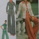 Misses' Unlined Shirt-Jacket And Pants Simplicity 5750 Pattern, Size 12, Uncut