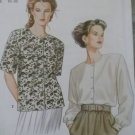 OOP Easy Simplicity 9816 Misses Classic Blouse Pattern, Plus Size 10 to 20, Uncut