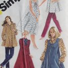 Simplicity 5665 Maternity Misses' Pants, Dress or Top & Sundress or Jumper Pattern, Size 14