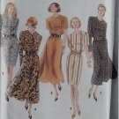Misses or Petite Dress slim or flared Skirt Simplicity 8529 Pattern, Plus Size 12 to 18 UNCUT