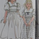 Easy Simplicity 9831 Pattern, Childs Girls Dress, Sz 4 5 6 7 8 10 12, Uncut