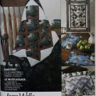McCalls 5463 Pattern Beginner lap quilt, pillow, wall hanging, & placemats, UNCUT
