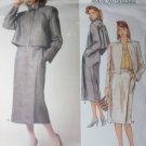 Perry Ellis Design Misses Jacket and Skirt Vogue 1354 Pattern, size 10, bust 32 1/2, Uncut
