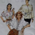 Burda 5140 Pattern Misses V neckline & Dolman sleeves Blouse,  Plus Size 12 14 16 18 20 22, Sealed