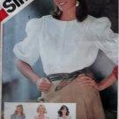 Misses' Set of Blouses Simplicity 5587 Pattern, size 10, bust 32 1/2, Uncut