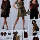 Simplicity 3533 Pattern, Misses' Dress or Top, Jacket in Two Lengths, Sz 6 to 14, UNCUT