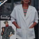 Ricki for Finity Design Simplicity 6318 Misses Unlined Jackets Pattern, Sz 10, 12, 14, Uncut