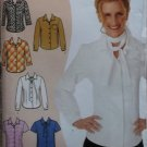 Simplicity 9816 Pattern, Misses Blouses Plus Size 12 to 22, Uncut