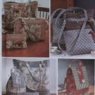 Simplicity 9779 Sewing Pattern Tote Bag in 3 sizes, Backpack, Purse or Cosmetic Bag, Uncut