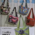 Simplicity 3822 Sewing Pattern Faith Van Zanten Design One Bag 5 looks, Uncut