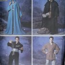 Unisex  Robe and Tunic Fantasy Costumes Simplicity 5840 Pattern, Sz XS To XL, Uncut