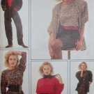 Misses' unlined Jacket, Pullover Top, Skirt & Trousers Style 1488 Pattern, Size 8 to 14, Uncut