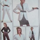 Misses Lined Jacket, Blouse, Skirt & Trousers Style 1228 Pattern Size 12, Bust 34, Uncut