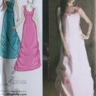 Simplicity 3820 Pattern, Evening Dress in three styles, Sz 4-12 UNCUT