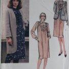 Vintage Misses Dress & Jacket Vogue 8098 Pattern, Size 14