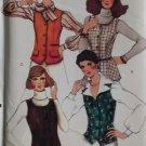 Simplicity  8968 Misses Lined Vest Pattern, Size 16, Uncut