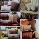 Simplicity 4108 Sewing Pattern Christopher Lowell Collection Decorative Pillows & Bolsters, UNCUT