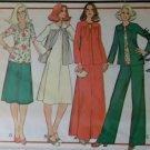 Vintage 80s Womens Shirt, Simplicity 6129 Pattern  Plus Size 24 1/2, Uncut