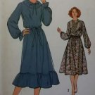 Simplicity 8719 Misses Dress & Tie Belt Pattern,  Size 14, UNCUT