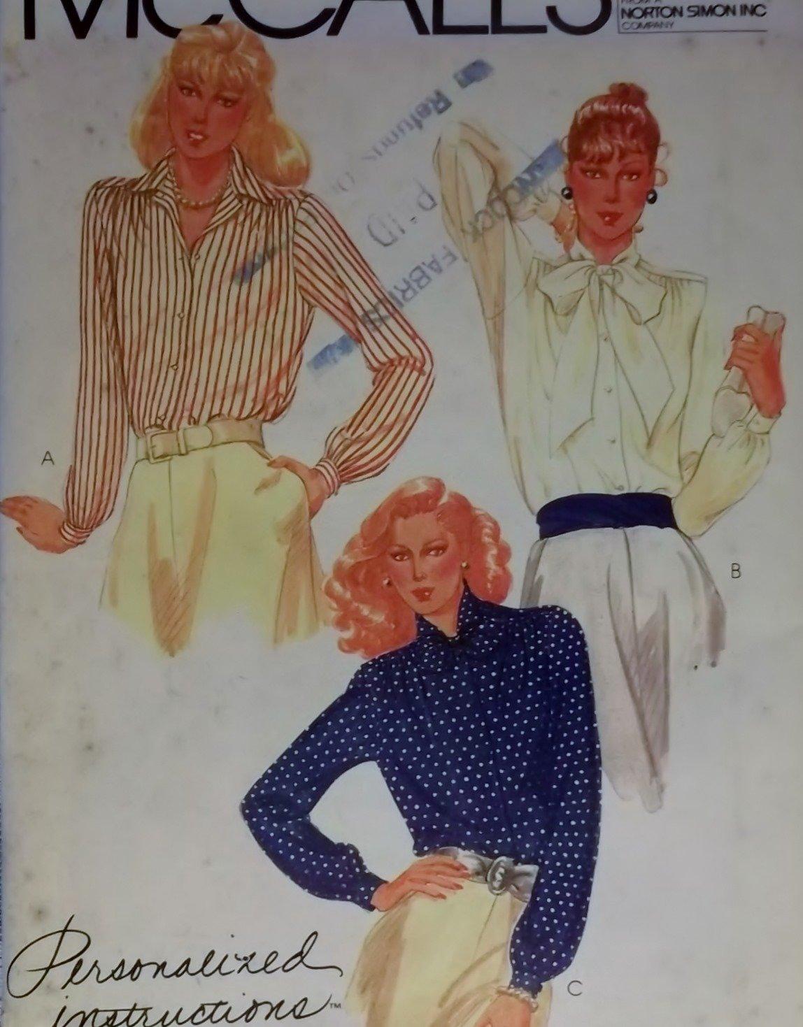 McCalls 7233 Misses Dress & Tie Belt Pattern,  Size 14, UNCUT