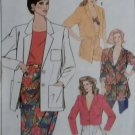 Easy Misses Unlined Jackets in 2 lengths Simplicity 9628 Pattern, Size 6 To 14, Uncut
