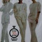 Easy McCalls 4591  Misses' Tunic Top Sash & Pants Pattern, Size 14 16, Uncut