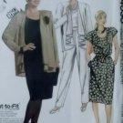 Simplicity 4030 Womans Unlined Jacket, Top, Skirt & Pants, Plus Half size 20 1/2 to 24 1/2, Uncut