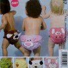 McCalls M 6537, Infants' Diaper Covers Pattern, Size  NB to XL, UNCUT