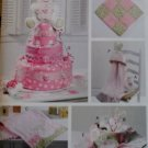 McCalls M 6301, Baby Diaper Cake & Baby Accessories Pattern, One Size, UNCUT