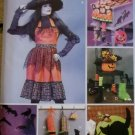 McCalls M 6623,  Halloween Apron & Decorating Set Pattern, One Size, UNCUT