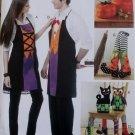 McCalls M 6415,  Halloween Aprons & Decorating Set Pattern, One Size, UNCUT