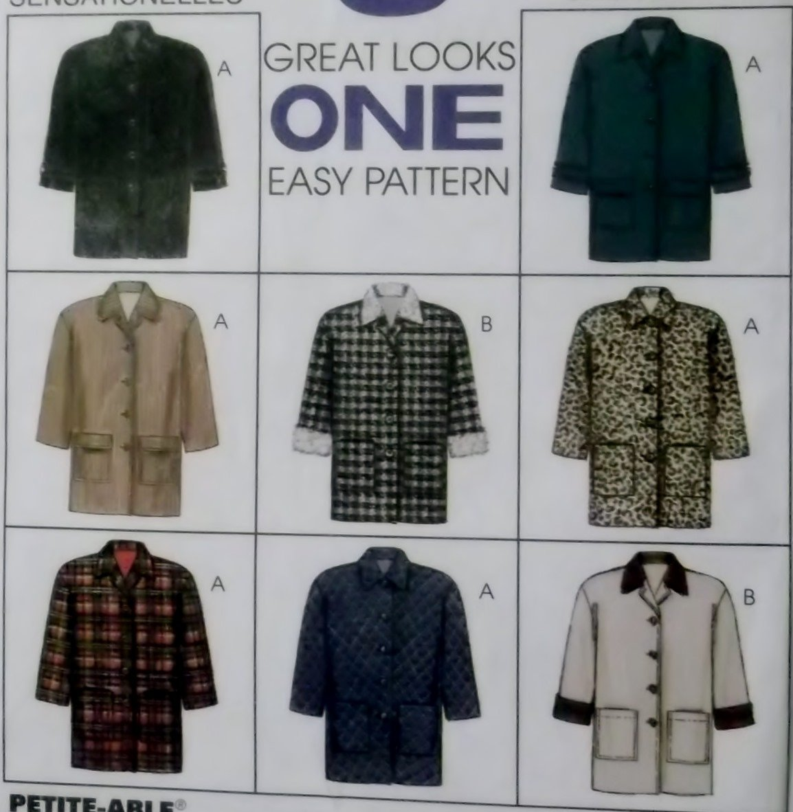 Misses Lined Jacket McCalls 8522 Pattern Size Large 16/18, UNCUT