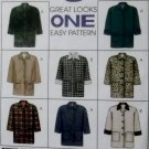 Misses Lined Jacket McCalls 8522 Pattern Size Large 16/18, UNCUT