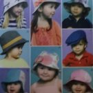 McCalls M 6762, Infants/Toddlers' Hats Pattern,  One Size, UNCUT