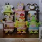 McCalls M 6807, Soft Animals  Pattern,  One Size, UNCUT