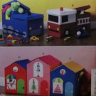 McCalls M 6806, Toy Storages Pattern,  One Size, UNCUT