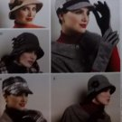 McCalls M 6450, Misses Hats and Gloves Pattern,  One Size, UNCUT