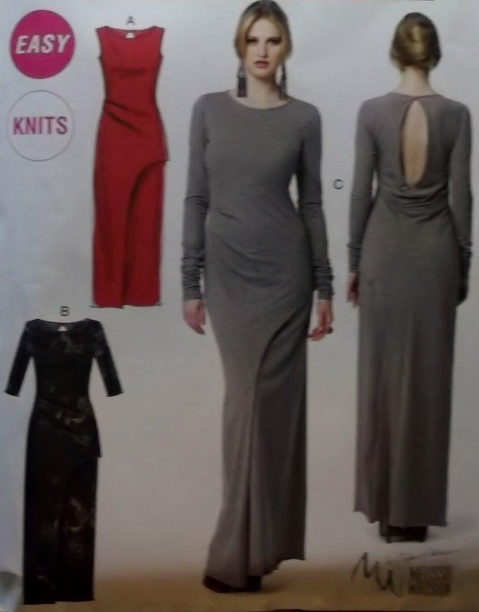 Generation Next Easy Misses Dresses McCalls M 6791 Pattern, Plus Size 12 To 20, Uncut
