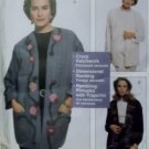 McCalls 8696 Sewing with Nancy Misses Lined Jackets, Plus Size Sm to Xlg, Uncut