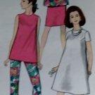 Simplicity 7276  Maternity Dress, Top, Pants & Skirt Pattern,  Size 14,