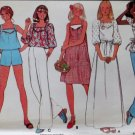 Vintage Butterick 5524  Misses Dress or Top and Shorts Pattern, Size 16, UNCUT