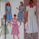 Misses or Petite Two piece Dress has trim Variations Simplicity 7063 Pattern, Size 8 To 16, Uncut