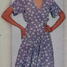 Misses Dress Butterick 5407 Pattern 12 14 16, Uncut