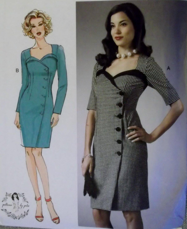 Butterick B  5953 Pattern, Misses' Dress, Sz 6 to 14, UNCUT