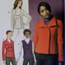 Easy Butterick B 5958 Pattern, Misses' Vest and Jacket, Sz 14 to 22, UNCUT