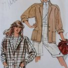 Misses Jacket Vogue 8572 Pattern, Size 8,