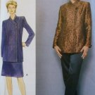 Misses Jacket, Skirt & Pants Vogue 9775 Sewing Pattern, Size 6 8 10, UNCUT