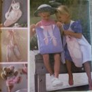 Simplicity 8905 Ballerina Ballet Wallhanging & Totes Pattern UNCUT