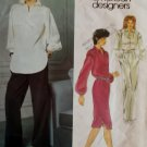 Geoffrey Beene Vogue 2726 Misses Top, Dress  &  pants Pattern, Size 14, Bust 36