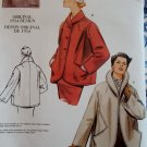 1954 Design Misses' Jacket Vogue V2884 Sewing Pattern, Size 6 8 10, UNCUT